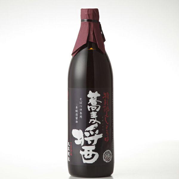 蕎麦醤(そばじょう)そばつゆ専用醤油 900ml